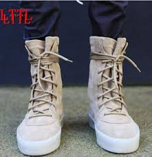 lace up moto boots 2018 fashion men autumn military crepe boots ankle suede thick flat