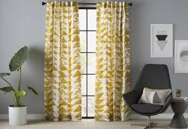 Pinch Pleat Patio Panel by Demi Geometric Semi Opaque Pinch Pleat Single Curtain Panel