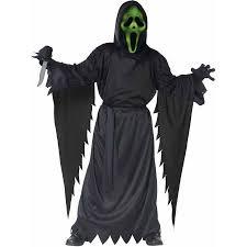 Boys Kids Halloween Costumes Scream Lite Ghost Face Boys U0027 Child Halloween Costume Walmart