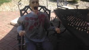 electrified maniac spirit halloween death row animated prop reveiw youtube