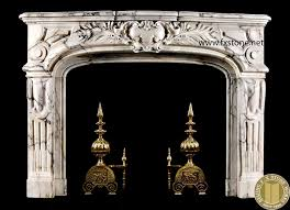 comely white marble fireplace mantels design with beautiful old