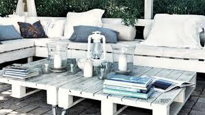 canap fait avec des palettes salon de jardin fait avec des palettes artedeus