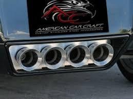 2014 corvette exhaust corvette exhaust filler panel w npp dual mode