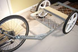 Light Bicycle Bike Trailer Tough And Light 11 Steps With Pictures