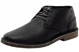 s chukka boots on sale kenneth cole s desert sun smooth black chukka boots shoes ebay