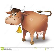 cartoon cow stock images image 17161074