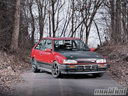 subaru justy rally 1988 mazda 323 gtx unsung hero modified magazine