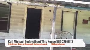 2 bedroom house for sale by owner 216 w 3rd stonewall oklahoma