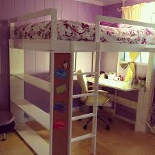 Build A Bunk Bed With Desk Underneath by Diy Loft Bed With Desk And Storage Bunk Bed With Table Underneath