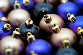 photo of plain christmas baubles free christmas images