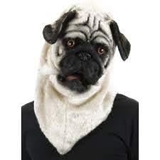 pug mouth mover mask furry cosplay head dog mask