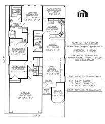 3 bed bungalow floor plans luxury bedroom house plans and bath garage per plan free shipping