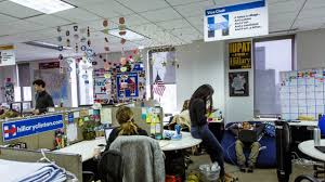 hillary clinton u0027s brooklyn campaign headquarters inside her