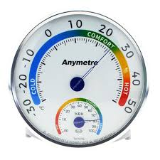 thermom re chambre b anymetre big thermometer and hygrometer for indoor use household