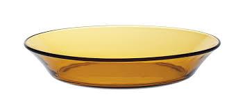 assiette porte verre duralex 3007df06 lot de 6 assiettes creuses verre vermeil 19 5 cm