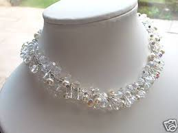 choker style pearl necklace images Bohemian crystal pearl choker style necklace jpg