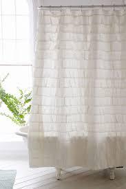 Lush Decor Ruffle Shower Curtain by Lush Decor Ruffle Shower Curtain Shower Curtain Rod