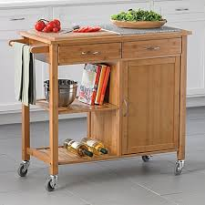 bamboo kitchen island kitchen island cart bamboo with rolling