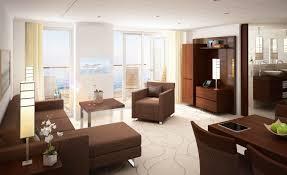 design minimalist art style luxury hotel living space wallpaper