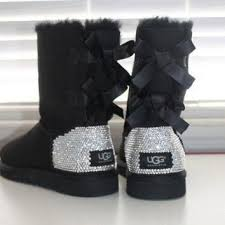 womens ugg boots grey best bow ugg boots products on wanelo