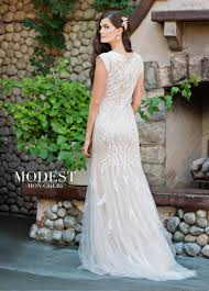 modest wedding dresses tr11837 mon cheri bridals