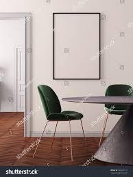 mockup poster art deco style dining stock illustration 586407119 mockup poster in art deco style dining room 3d rendering 3d illustration