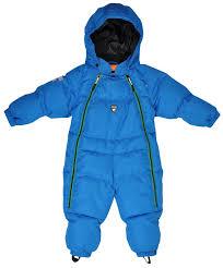 blue aspen baby snowsuit from lindberg sweden autumn winter