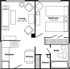 bedroom plans floor plan one bedroom apartment philip benjamin tower