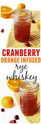 cranberry orange rye recipe rye whiskey and rye