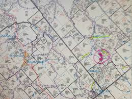 Plat Map Definition 26 Acres Knox Township Clearfield County Pa Carnwath Blue
