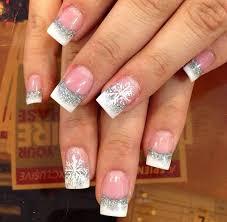 50 festive christmas nail art designs silver nail art silver