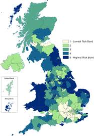 Shetland Islands Map Predicted Relative Prevalence Estimates For Obstructive Sleep
