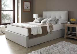 Ottoman Storage Bed Double by Mw Kaydian Design Dreydern 4ft 6 Double Ottoman Bed Oatmeal