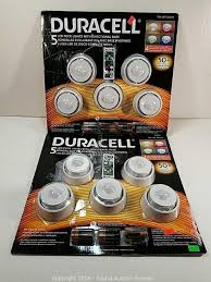 duracell led puck lights sound auction service auction 1 16 18 a little bit of everything