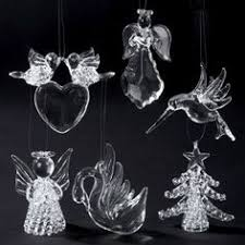 blown spun glass wishing well w bird removable clear