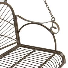 Hanging Chair Outdoor Furniture Bcp Iron Patio Hanging Porch Swing Chair Bench Seat Outdoor