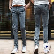 Guys Wearing Skinny Jeans European Fashion Style Black Feet Font B Tall B Font Font B Men S B Font Jpg