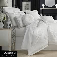 White Bedding Decor Ideas Bedroom White Ruffle Comforter For Chic Bedroom Decoration Ideas