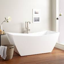 bathtubs hundreds in stock free shipping signature hardware renlo acrylic freestanding tub