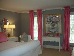 Gray Blue Curtains Designs Blue Bedroom Gray Blue Bedroom With Pink Curtains Design Your