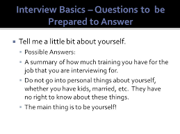 tell about yourself job interview bell ringer announcements u2013 4 minutes job interview