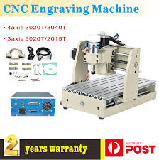 3axis 4 axis cnc router engraver engraving drilling milling desktop machine