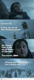 White Walker Meme - game of thrones vs walking dead memes page 14 of 20