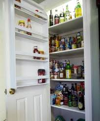 Door Mounted Spice Rack Cabinet Door Mounted Shelves Pantry And Food Storage Solutions