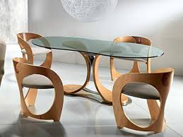 Modern Kitchen Table And Chairs Beautiful Modern Glass Dining Room Table Ideas Startupio Us