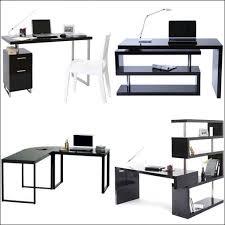 bureau d angle noir laqué bureau design blanc laqu amovible max affordable soldes bureau