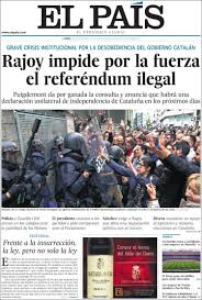 how europe u0027s press reacted to the catalan independence vote u2013 politico