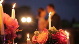 table centerpieces with candles dolly shot of beautiful wedding table decorations with candles and