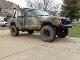 jeep comanche lifted 4 5