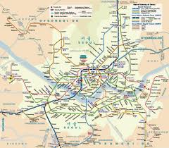 Bus Map Chicago by Seoul Bus Map Seoul Bus Route Map South Korea
